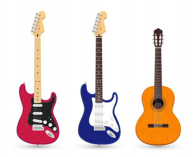 راهنمای خرید گیتار الکتریک