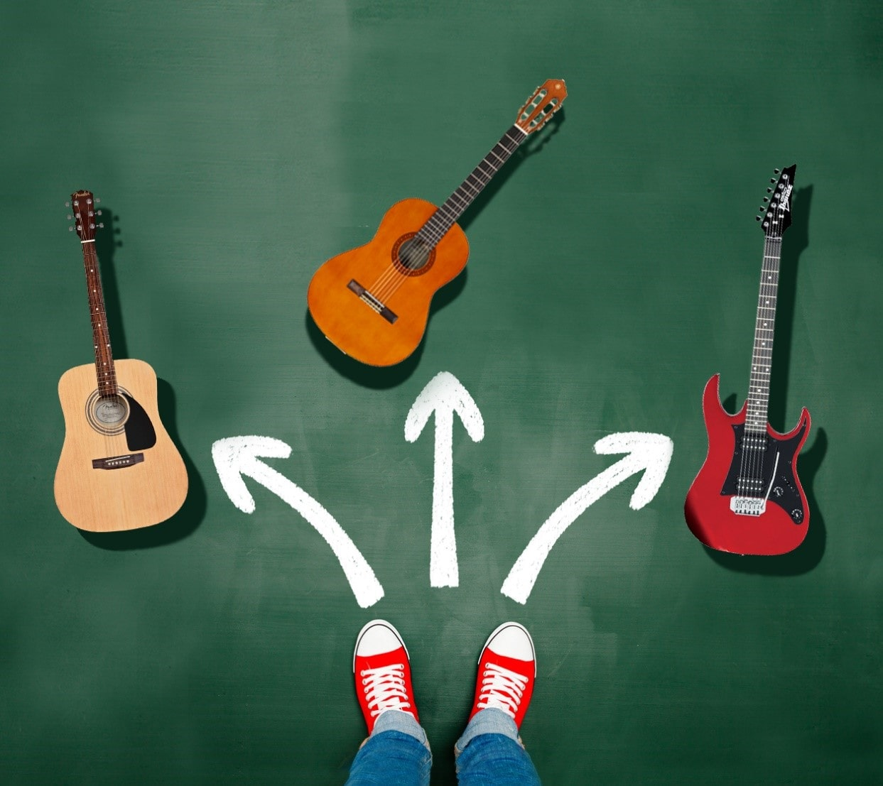 خرید گیتار الکتریک و آکوستیک