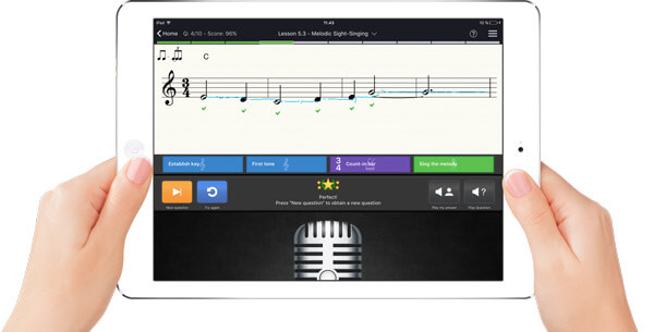 برنامه EarMaster – Music Theory & Ear Training