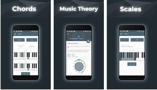 اپلیکیشن Music Theory with Piano Tools