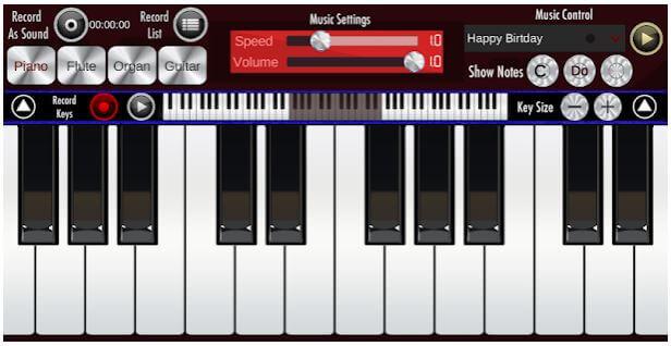 برنامه Real Piano