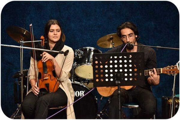 کلاس آموزش ویولن در آموزشگاه موسیقی منظومه