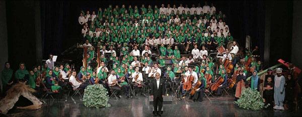 کنسرت جمعی هنرجویان آموزشگاه موسیقی پارس